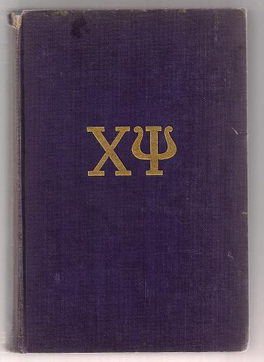 Image for Catalogue of Chi Psi Fraternity 1841-1932