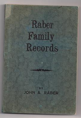Image for Family Records of Jacob Raber from Germany and His Lineal Descendants