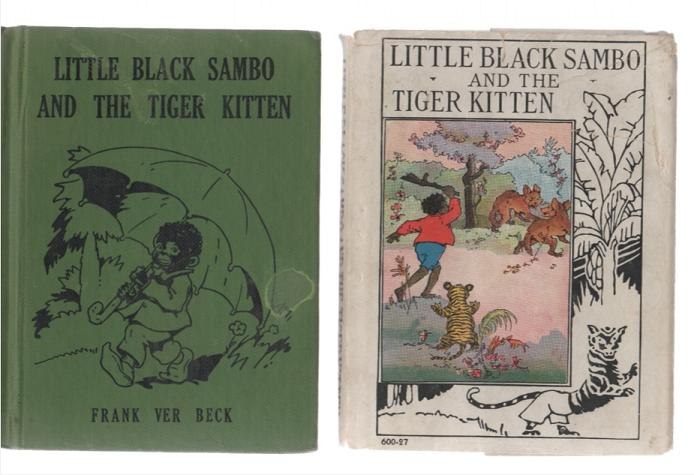 Image for Little Black Sambo and the Tiger Kitten (Wee Books for Wee Folks)