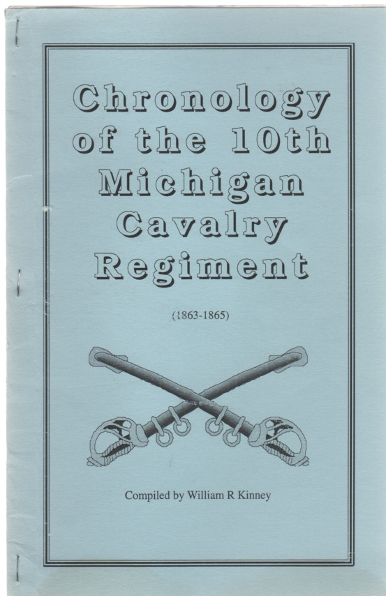 Image for Chronology of the 10th Michigan Cavalry Regiment (1863-1865)