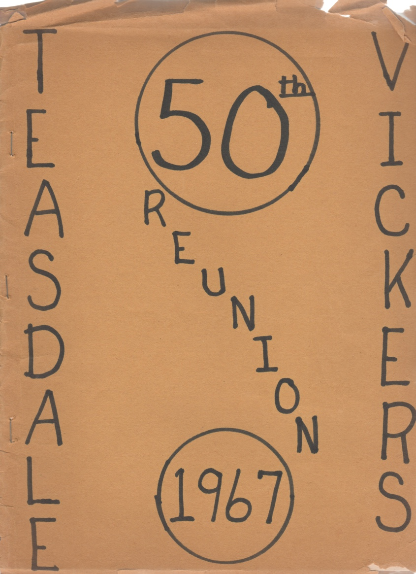Image for Teasdale - Vickers 50th Reunion 1967