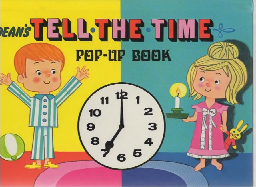 Image for Dean's Tell-the-Time Pop-Up Book