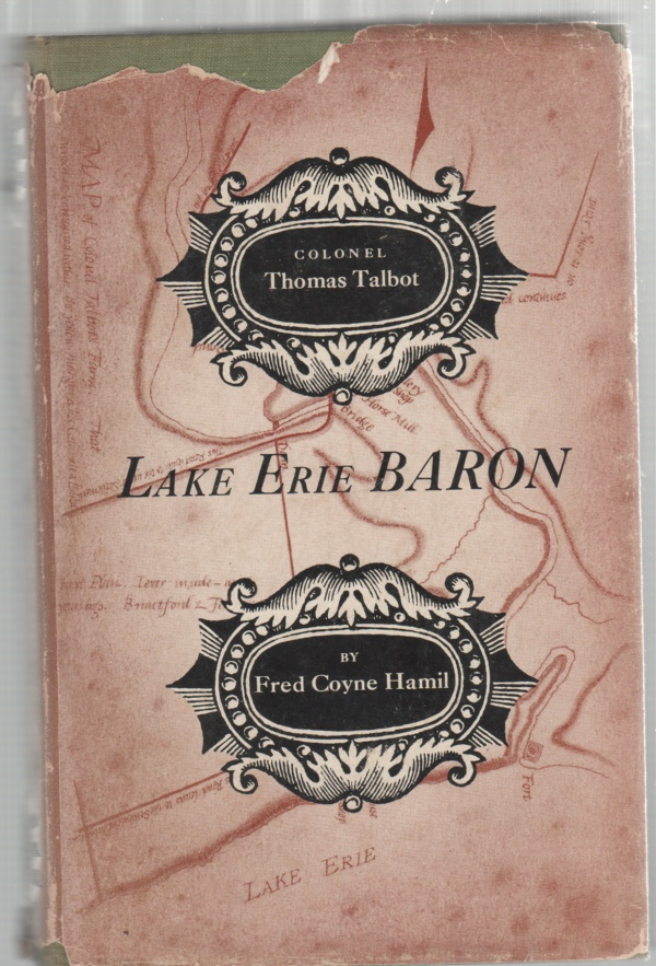 Image for Lake Erie Baron The Story of Colonel Thomas Talbot