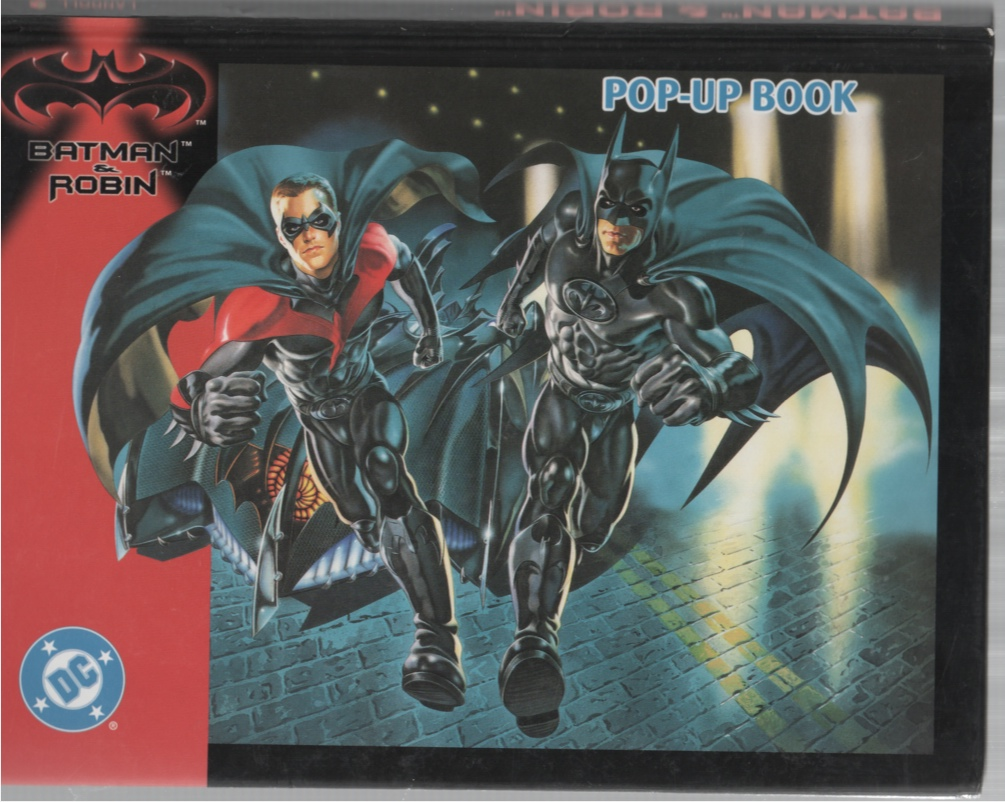 Image for Batman & Robin Pop-Up Book