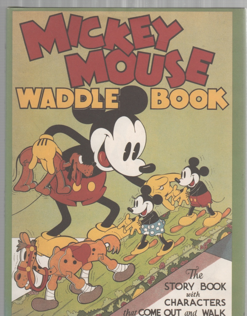 Image for Mickey Mouse Waddle Book