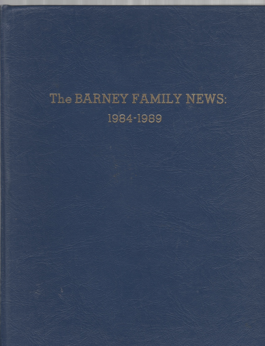 Image for The Barney Family News September 1984-June 1989
