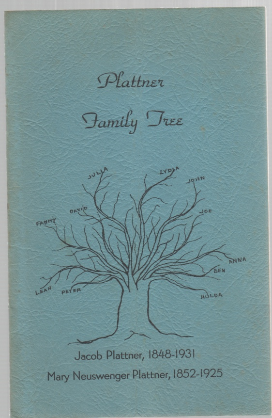Image for Plattner Family Tree