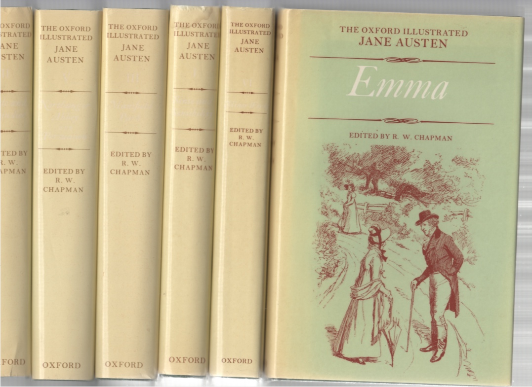 Image for The Novels of Jane Austen The Text based on Collation of the Early Editions (6 Volume set) (Pride and Prejudice, Sense and Sensibility, Mansfield Park, Emma, Northanger  Abbey and Persuasion, Minor Works)