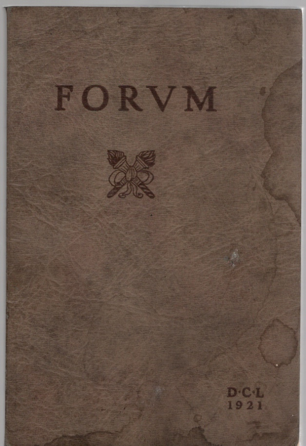 Image for The Forum being the year-book published by the Senior Class of the Detroit College of Law