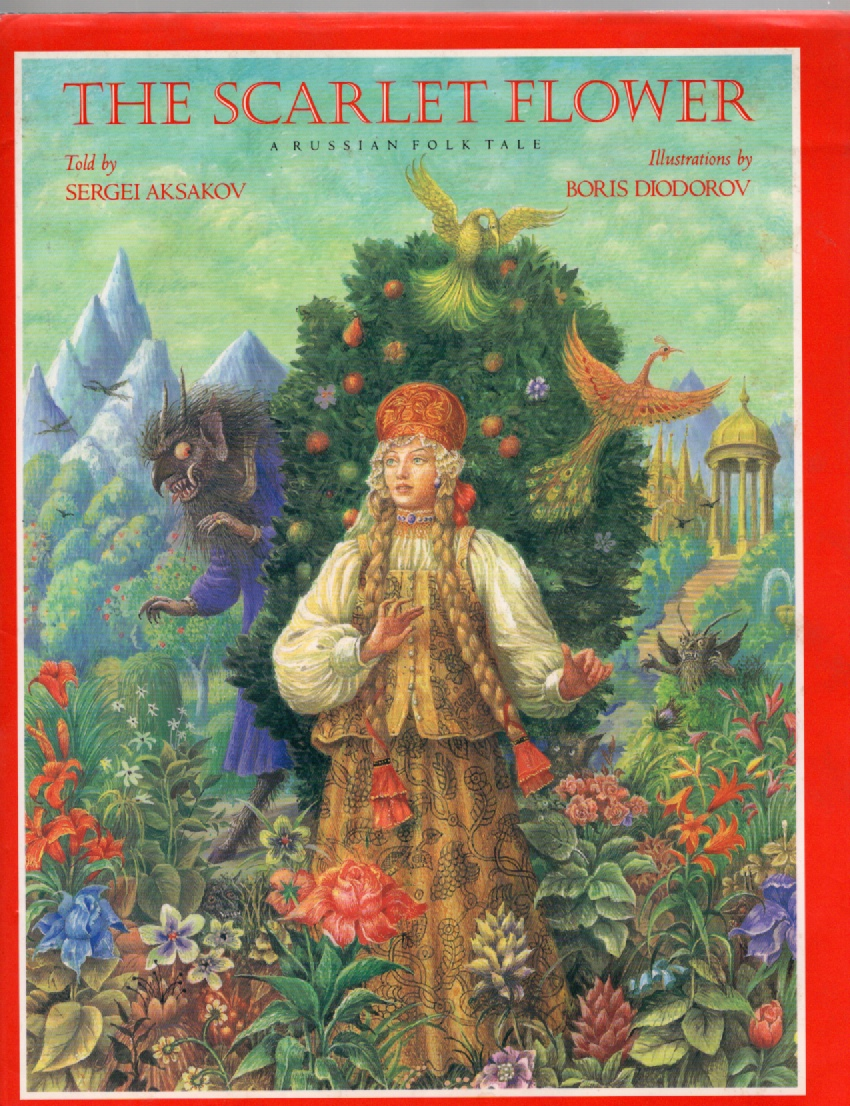 Image for The Scarlet Flower A Russian Folk Tale