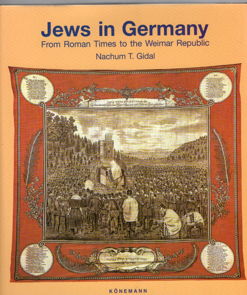 Image for Jews in Germany From Roman Times to the Weimer Republic