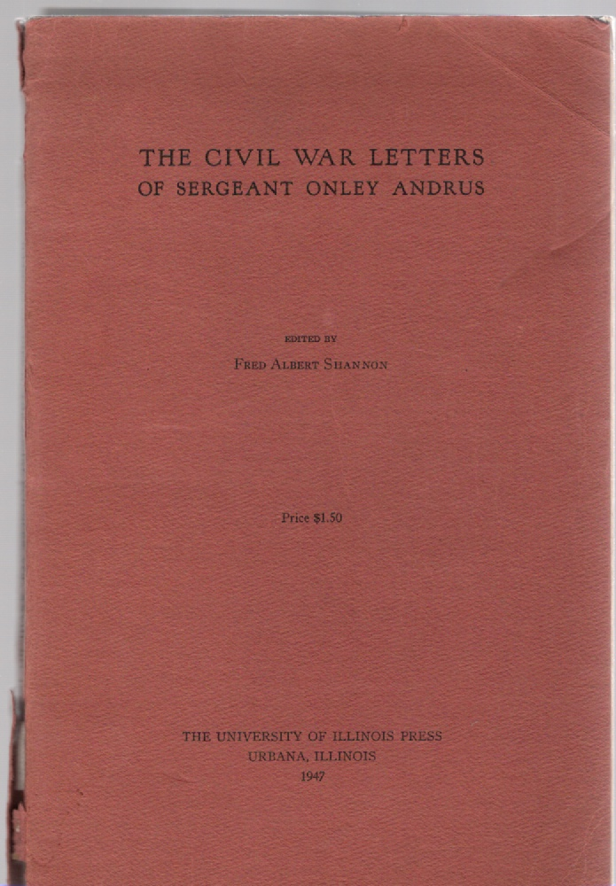 Image for The Civil War Letters of Sergeant Onley Andrus