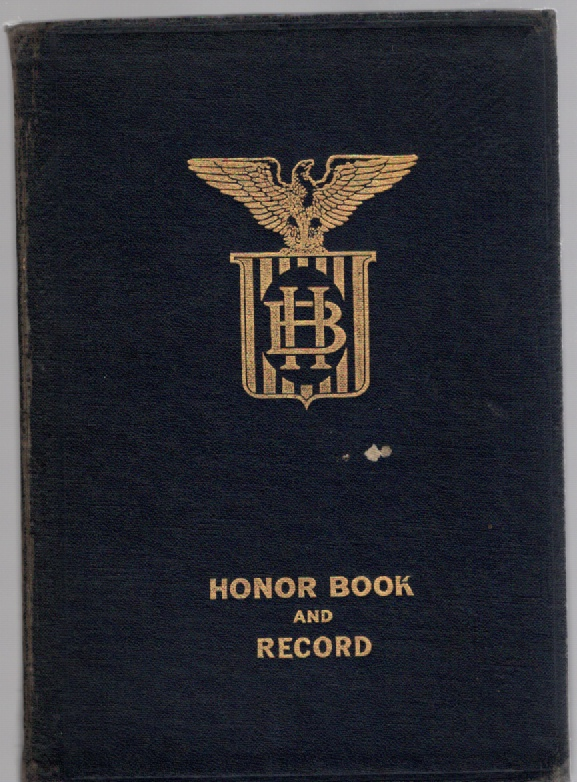 Image for Menard County Honor Book An Honorary Roll of Those Who Took Part In the World War in Behalf of the Citizens of Menard County: Petersburg, Athens, Greenview, Tallula, Cantrall, Oakford, Atterbury, Faney Prairie, Tice, Sweetwater in Illinois