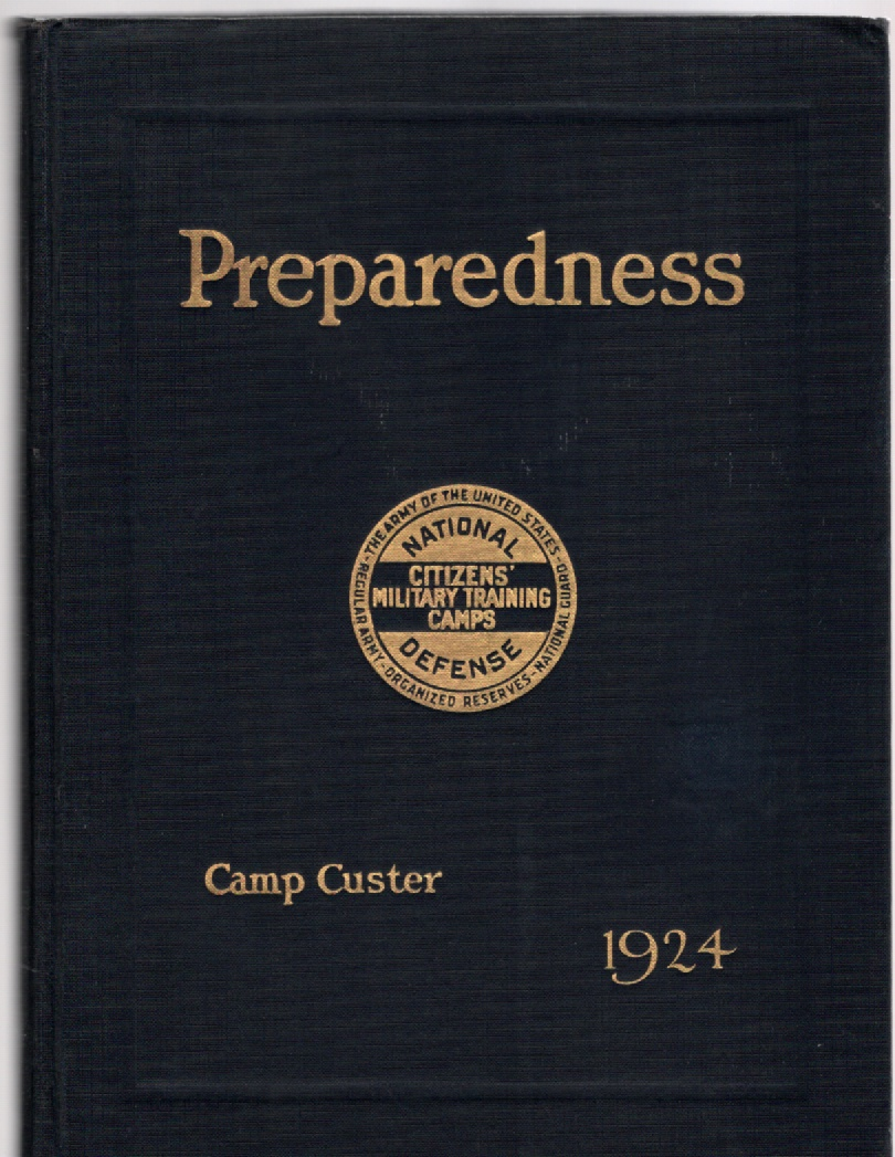 Image for Preparedness Volume IV Sixth Corps Area Camp Custer Michigan 1924