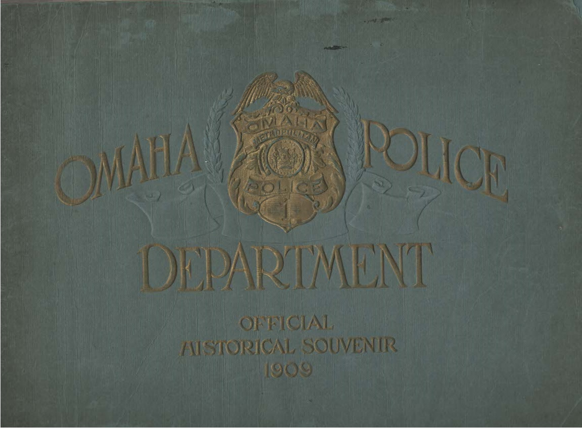 Official Historical Souvenir Omaha Police Department Benefit Police Relief Fund