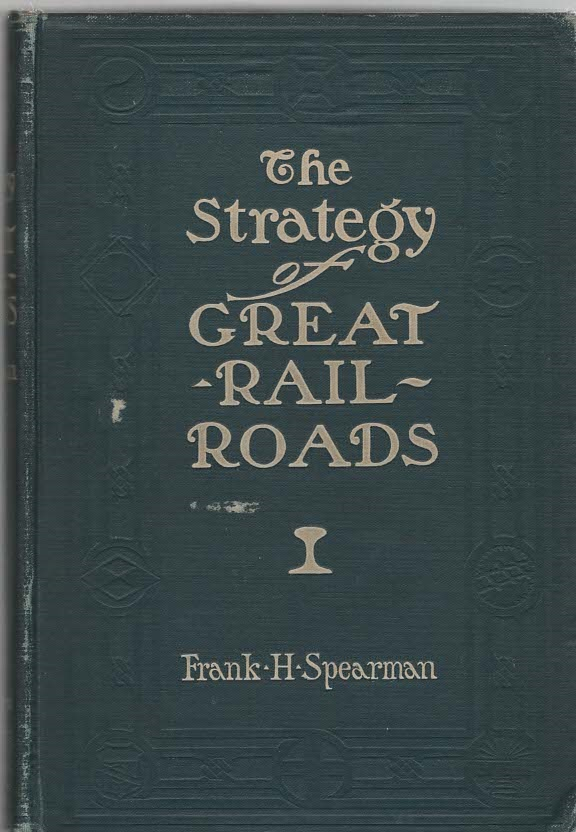 Image for The Strategy of Great Railroads