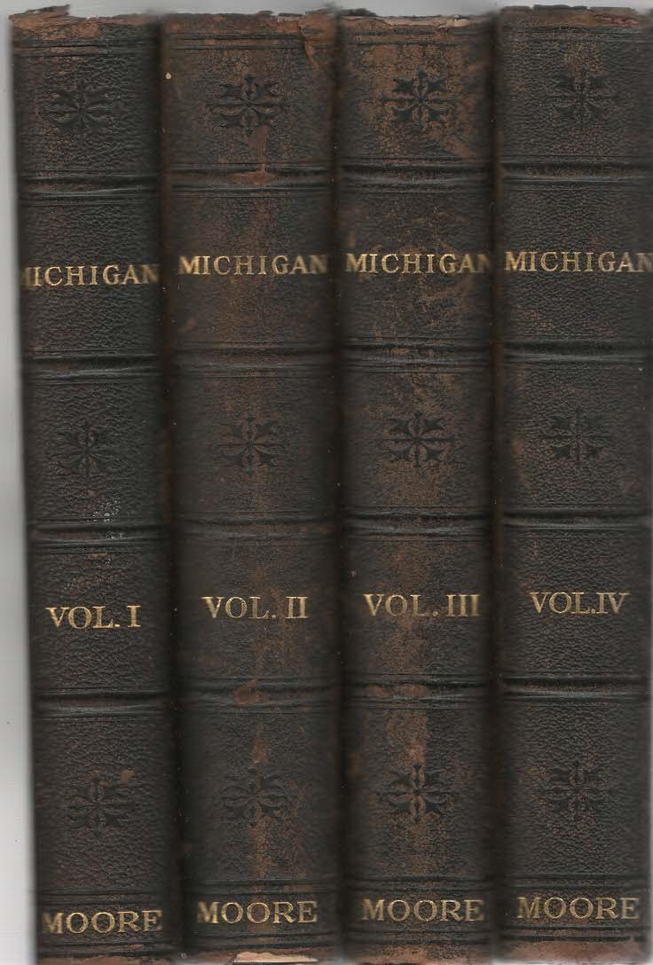History of Michigan Volume I - IV