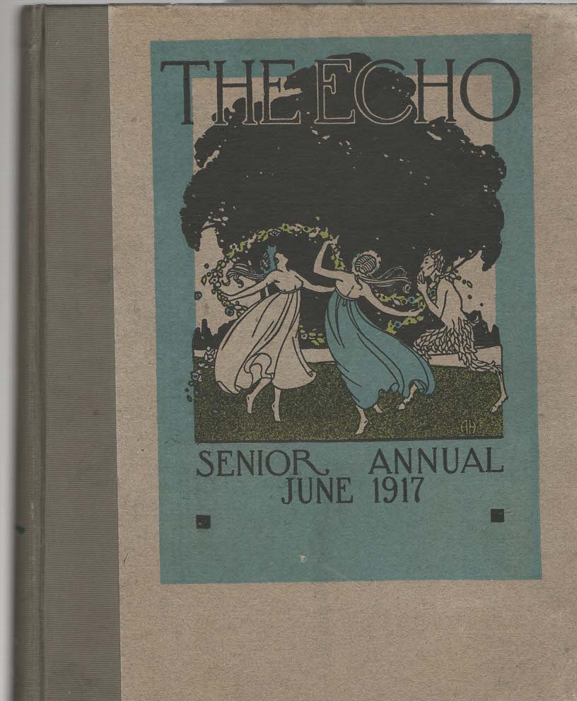 Image for The Echo Senior Yearbook 1916-1917