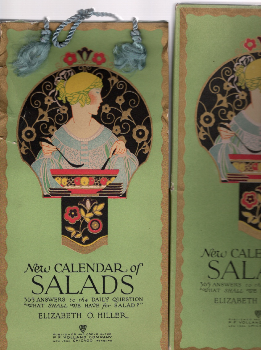 Image for New Calendar of Salads 365 Answers to the Daily Question What Shall We Have for Salad?