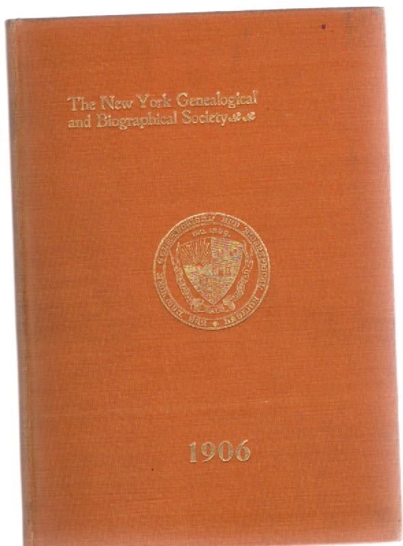 Image for The New York Genealogical and Biographical Society Officers Committees By-Laws Members