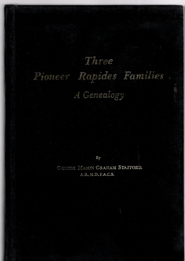 Image for Three Pioneer Rapides Families A Genealogy