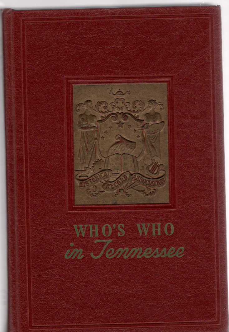 Image for Who's Who in Tennessee