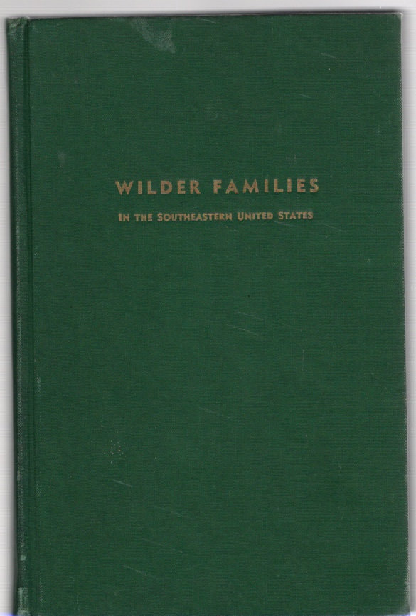Image for Wilder Families in the Southeastern United States
